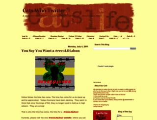 catswhotwitter.blogspot.com screenshot