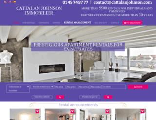 cattalanjohnson.com screenshot