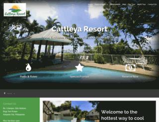 cattleyaresort.com screenshot