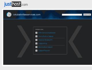 catubalivillasservices.com screenshot