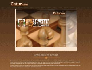 catur.com screenshot