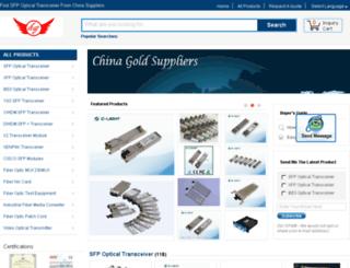 catvopticaltransmitter.com screenshot