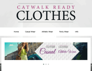 catwalkreadyclothes.com screenshot