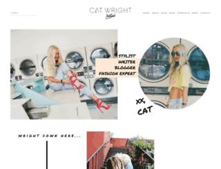 catwrightstyle.com screenshot