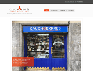 cauchoexpres.com screenshot