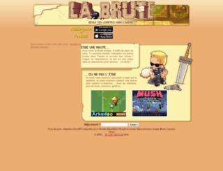 causs.labrute.fr screenshot