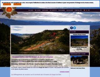 causses-cevennes.com screenshot