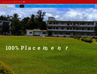 cauverycollegegpl.edu.in screenshot
