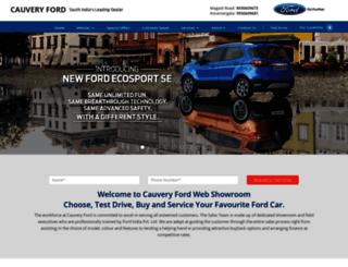 cauveryford.com screenshot
