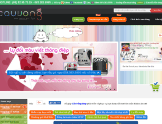 cauvong.net screenshot