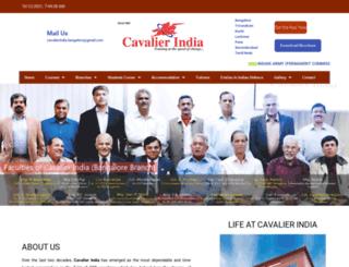 cavalierindia.com screenshot