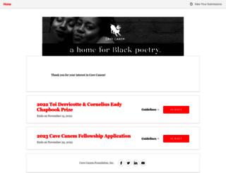 cavecanem.submittable.com screenshot