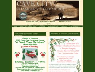cavecitychamber.com screenshot