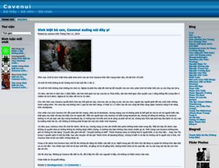 cavenui.wordpress.com screenshot