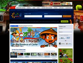 cavite.info screenshot