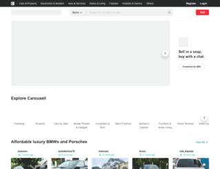 cavite.olx.com.ph screenshot
