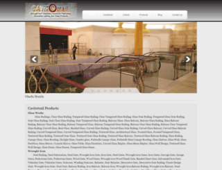 cavitetrail.com screenshot