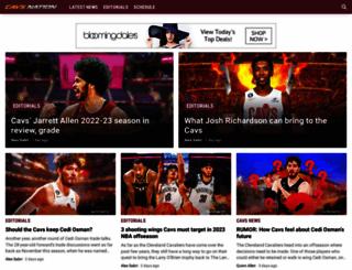 cavsnation.net screenshot