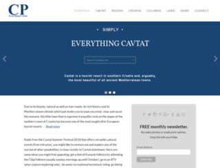 cavtatportal.com screenshot