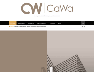 cawa.fr screenshot