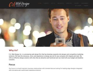 cawebdesign.com screenshot
