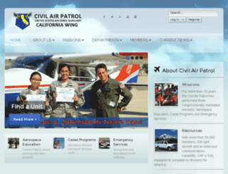 cawg.cap.gov screenshot