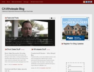 cawholesaledeals.com screenshot