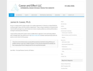 cawseandeffect.com screenshot