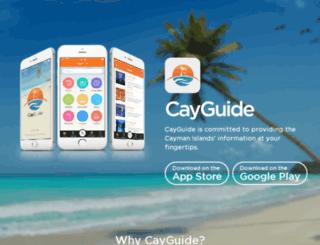 cayguide.ky screenshot