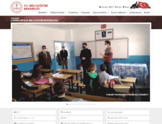 cayiralan.meb.gov.tr screenshot