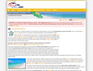 cayolargo.net screenshot