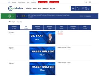 caytv.com.tr screenshot