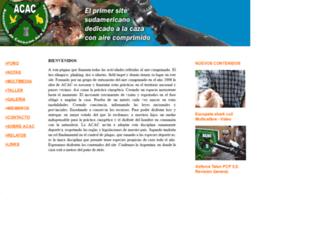 cazaconaire.com.ar screenshot