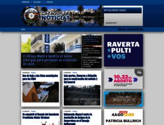 cazadordenoticias.com.ar screenshot