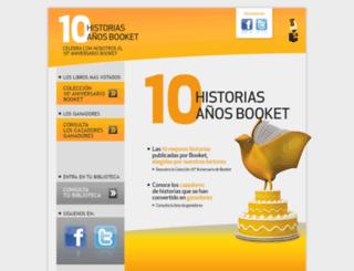 cazadoresdehistorias.com screenshot