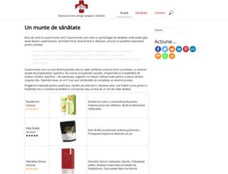 cazarimunte.com screenshot