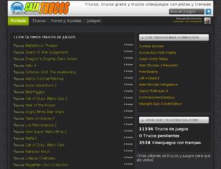 cazatrucos.com screenshot