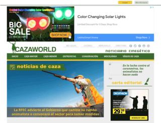 cazaworld.com screenshot