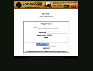 cazaysafarisargentina.com screenshot