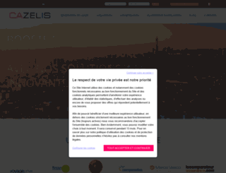 cazelis.com screenshot