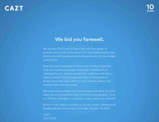 cazt.com screenshot