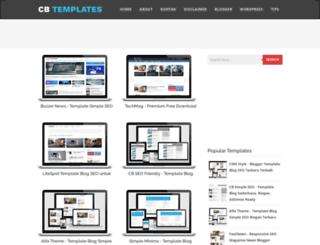 cb-templates.blogspot.com screenshot