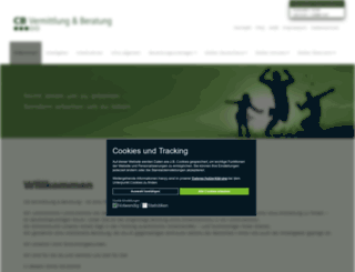 cb-vermittlung-beratung.de screenshot