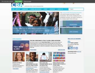 cba.org.uk screenshot