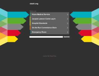 cbahi.org screenshot