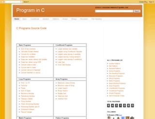 cbasicprogram.blogspot.in screenshot