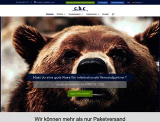cbc-logistics.de screenshot
