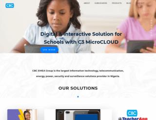 cbcemea.com screenshot