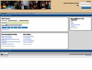 cbcl.sirsi.net screenshot