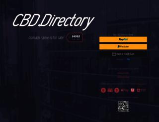 cbd.directory screenshot
